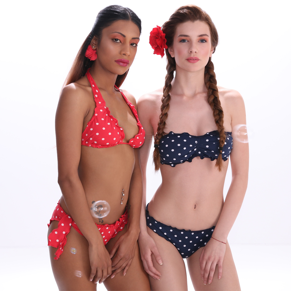 Jolidon Swimwear 2017 Joy Collection XFS8-XFD8-XFS7-XFD7 (dots)